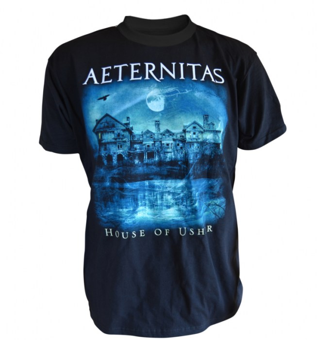 Aeternitas - House Of Usher-t-shirt