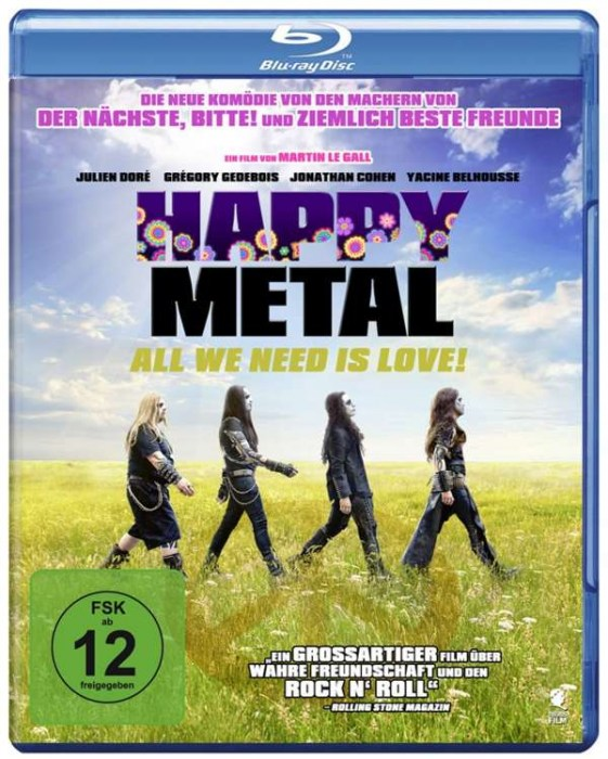 Happy Metal • Blu-Ray Front