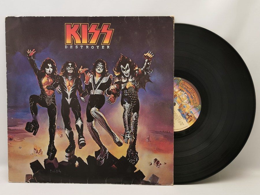 Kiss - Destroyer Front