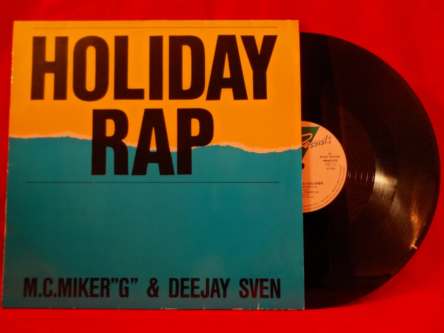 M.C.Miker G Deejay Sven - Holiday Rap