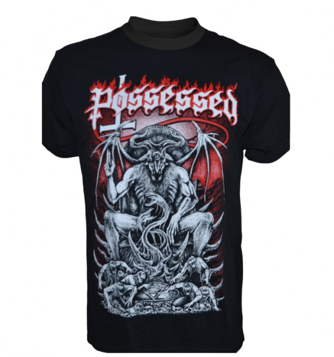 Possessed - Pentagram Throne T-Shirt